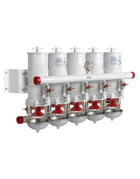 Wasserabscheider/Grob filter CE/ABYC, 5 in Line