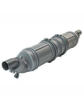 Ø90 mm - 13 liter - Kunststoff Wassersammler/Schalldämpfer, Typ NLP3 - Der wahrscheinlich leiseste Wassersammler der Welt!