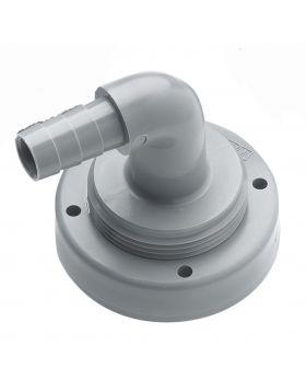 Schlauchanschluss, Ø 16 mm, gebogen, für starre Tanks