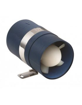Inline Absaugventilator 12V - Schlauchd. Ø  Ø102 mm