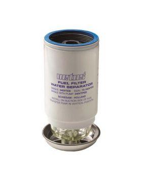 Ersatz Filterelement CE/ABYC, 10 micron, max 84 gph (380 l/h) - Blau