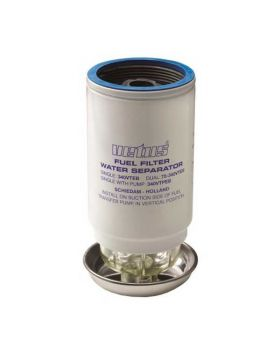 Ersatz Filterelement CE/ABYC, 10 micron, max 102 gph (460 l/h) - Blau