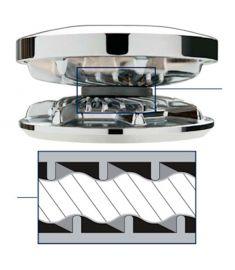 Kettenrad für 500 Serie für; 7 mm DIN766 Kette, 7 mm EN818, 1/4 G40 ISO