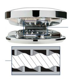 Kettenrad für 2200 - 2500 Serie für 3/8 BBB, 10 mm DINN766 Kette