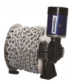 TASMAN 8-6 drum winch, 24V ,1000W Incl 150m 6mm rope & 10m 6mm chain