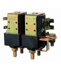 Doppelrelais, #24 Volt, 3 kW, für Ankerwinden, M8