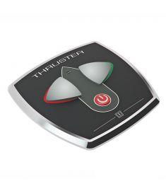 Aluminium Bugschrauben Touch-Paneel mit Zeitverzögerung, 97 x 95 mm, in Ø52 mm, 12/24 V