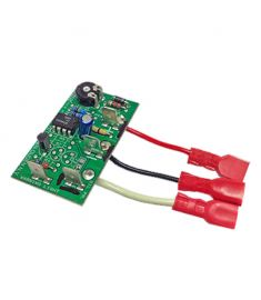 Waste Instrument interface for warning light/sound when virtually full