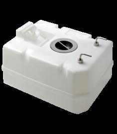 Dieseltank 40 Liter inkl. Anschlüsse, f. 10 mm Treibstoffleitung