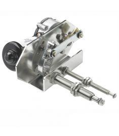 Schwerlast Wischermotor, 12V, 75W - lange Welle