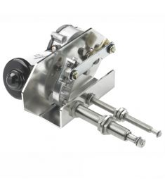 Schwerlast Wischermotor, 24V, 75W - lange Welle