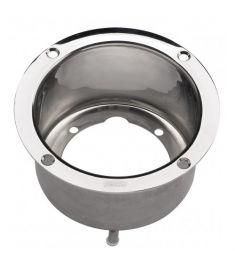 Adapterflansch aus Edelstahl, für HTP Pumpe, tiefe 78 mm