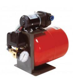 Wasserdrucksystem, 24 Volt, Inhalt des Drucktanks# 8 L, inkl. Druckanzeigegerät