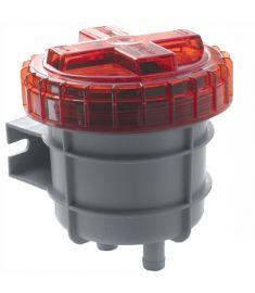 Dieselöl-Geruchsfilter groß, mit Anschlüssen für D 19 mm Schlauch
