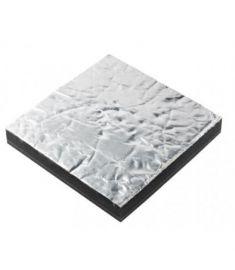 Schalldämmung Promotech single, 12mm, Alu-Oberfläche (600 x 1000 mm)