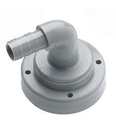 Schlauchanschluss, Ø 13 mm, gebogen, für starre Tanks