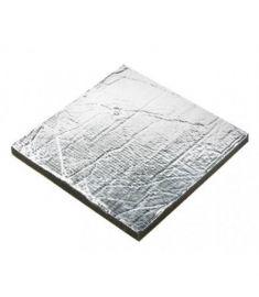 Schalldämmung Sonitech light, 20mm , Alu-Oberfläche (600 x 1000 mm)