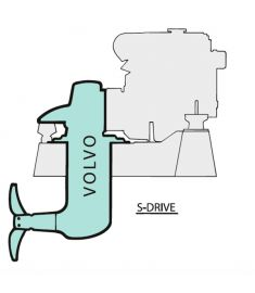 Adaptor kit for saildr. 120s complete