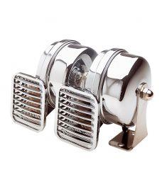 Kompakt doppel Horn - 24 Volt - mit hohen und tiefen Ton 500/410 HZ