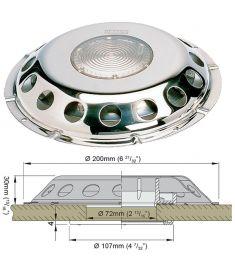 Decksventilator Typ UFO-TRANS) #(inkl. Kunststoffgitter)