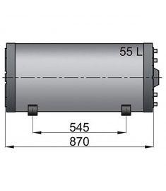 Doppelwandige Boiler WHD 55 litre