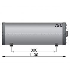 Doppelwandige Boiler WHD 75  Litre