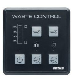 Schmutzwasserkontrollpaneel Typ WWCP