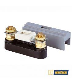 Sicherungshalter Typ C100, Geeignet für Sicherungen von 40 bis 500 Amp, mit Schutzkappe
