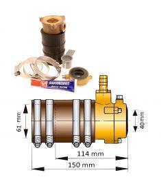 40mm self-aligning inner bearing with dual lip seal III